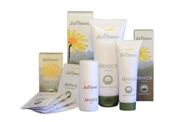 Productos de árnica ecológica TaullOrganics