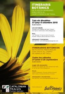 Itinerarios botánicos en el Valle de Boí - Pirineos