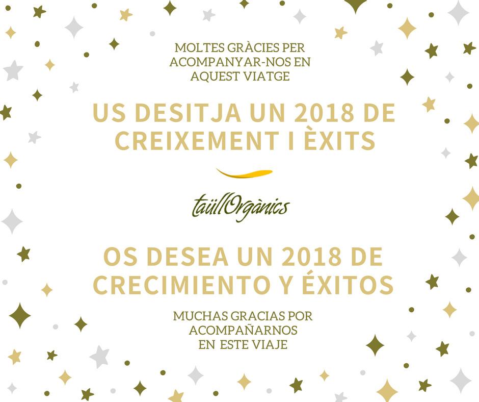 Felicitacion Navidad 2018 TaullOrganics